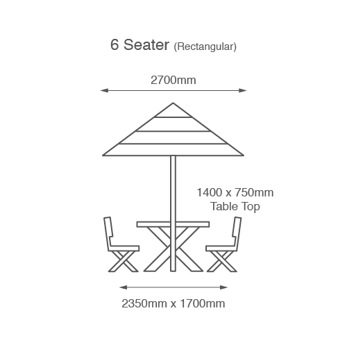 umbrella and table kits