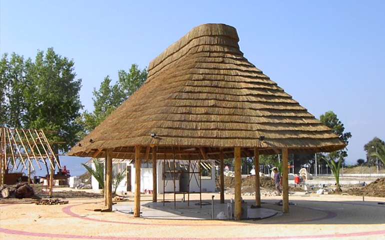 Thatched Amp Wooden Gazebo Kits Africa Roofing Uk