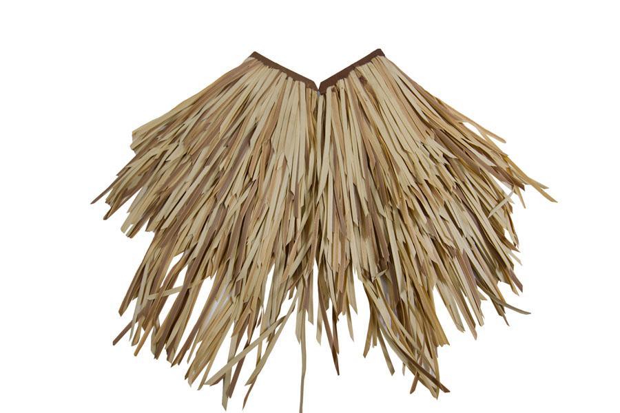 Fibre Palm Thatch Corner Tile