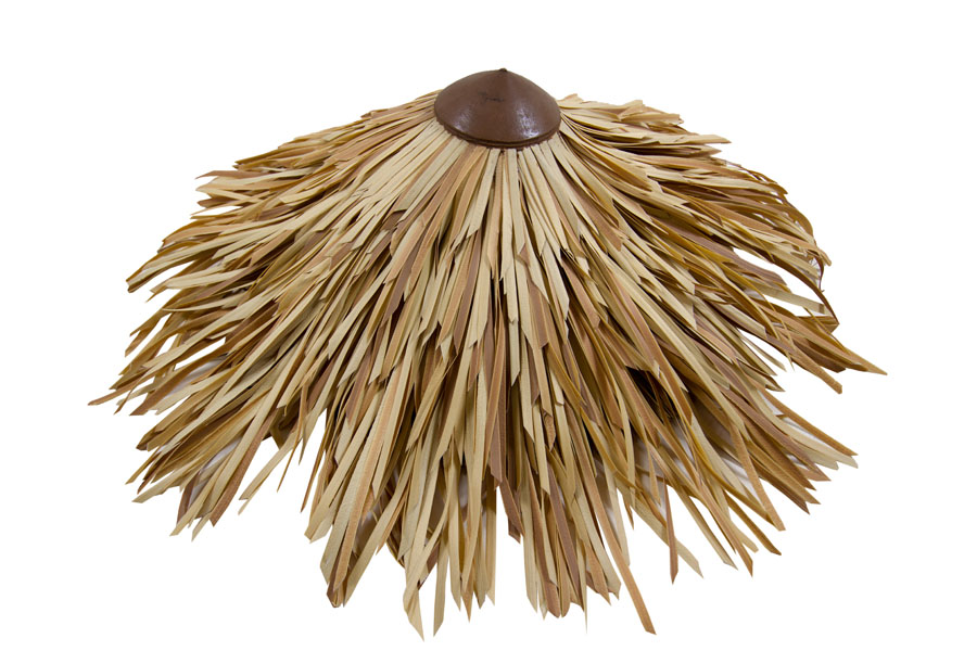 Fibre Palm Thatched Top Cone