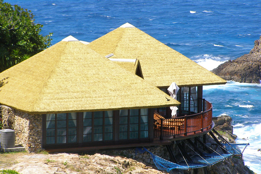 FIbre Thatch - Africa Roofing