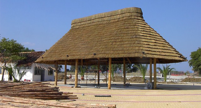 africa roofing thatch huts