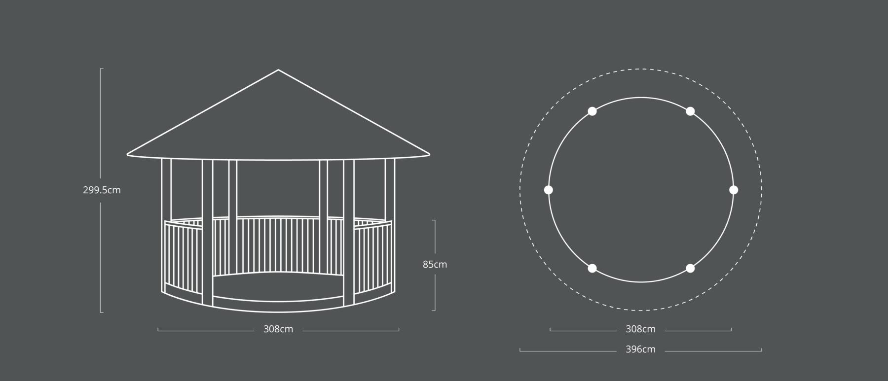 Circular Shelter 299.5x308