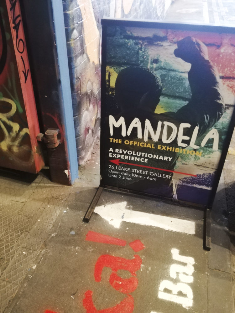 Mandela Exhibition - Leake Street