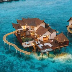 Jumeirah Vitavelli, Maldives luxury water suites 1. Thatching provided by Africa Roofing